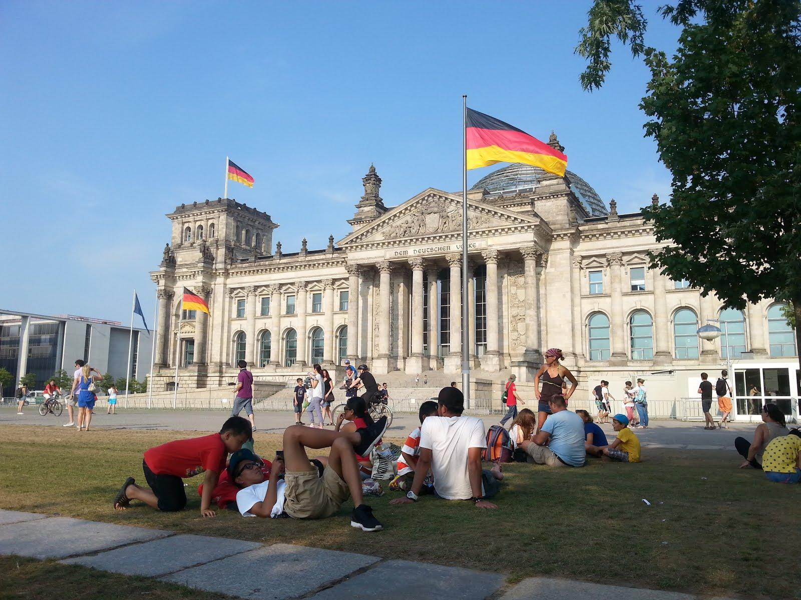 בניין הפרלמנט הגרמני (הבונדסטאג) - הרייכסטאג