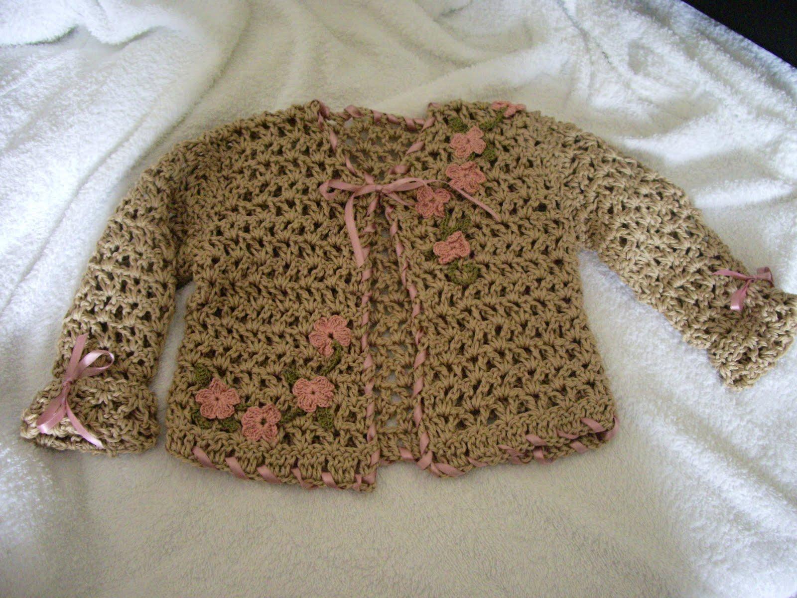 Titti Crochet Giacchina Bimba