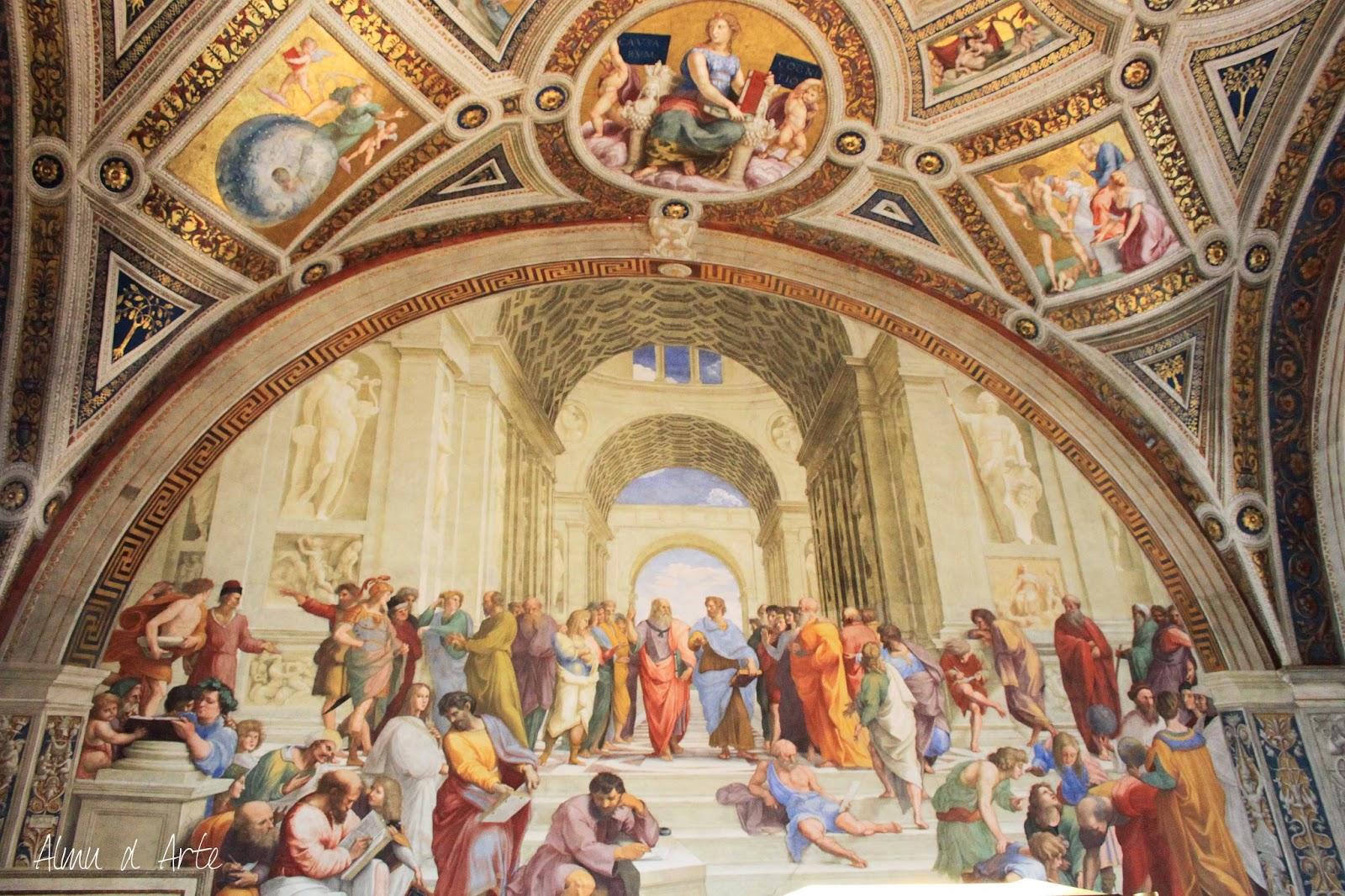 Escuela de Atenas de Rafael