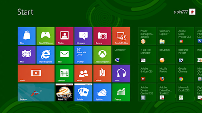 Windows 8 metro background