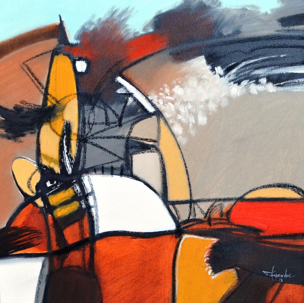 Cuadros modernos pinturas y dibujos abstractos al leo for Cuadros al oleo modernos