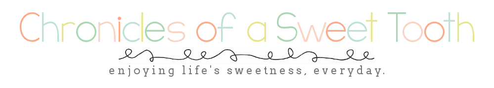 Chronicles of a Sweet Tooth