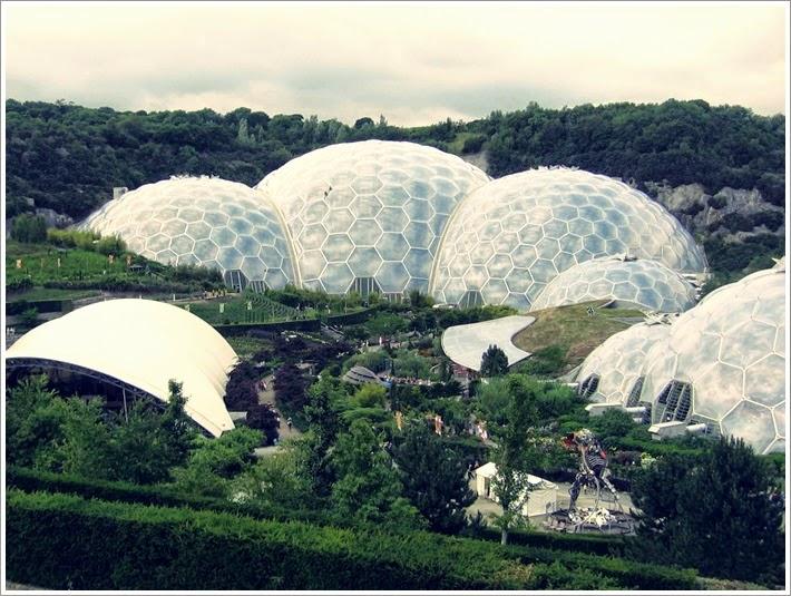 kornwalia, eden projekt, ogród botaniczny w kornwalii