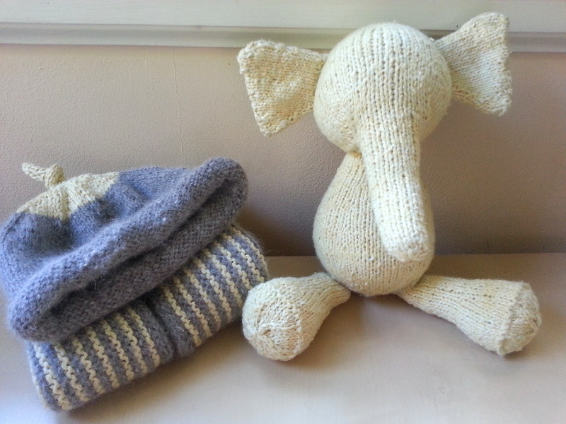 Simply Playing: Knitting Baby Gifts