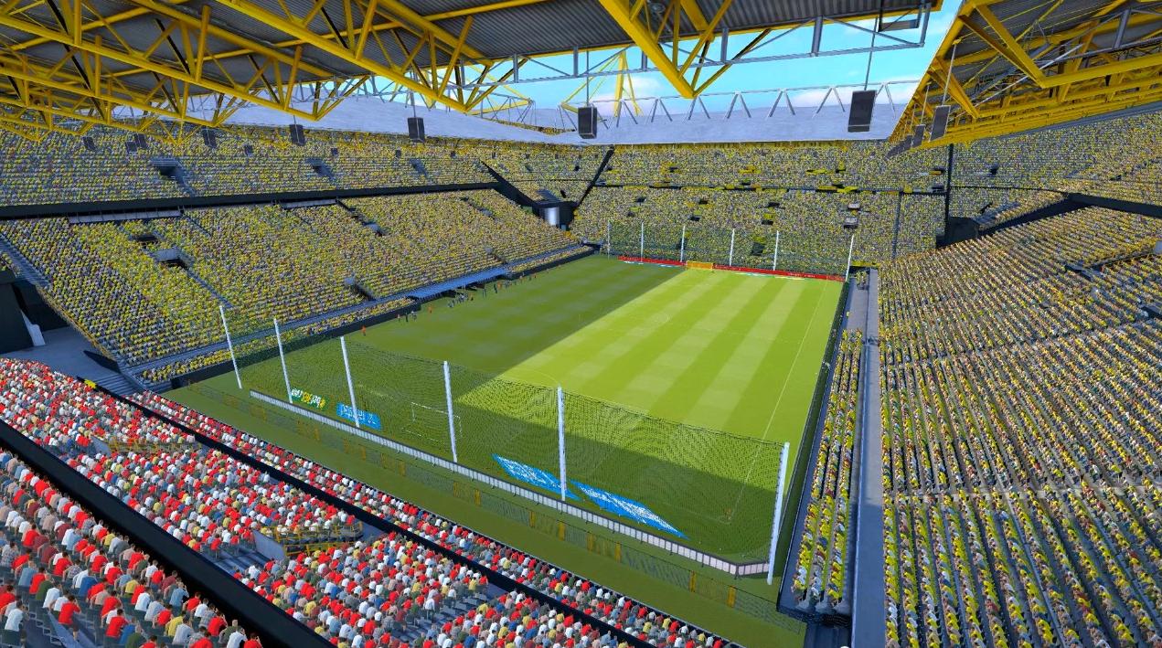 [PES 2015] Pack com 26 Estádios Europeus + Adboards by Estarlen Borussia