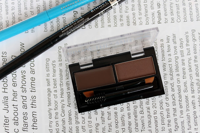 Rimmel Brow This Way review, Rimmel Exaggerate Eye Liner review, Rimmel review, Rimmel haul review swatches, Rimmel swatches, Rimmel eye liner swatches, Rimmel brow kit review
