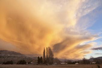 HUMO EN LA PATAGONIA ARGENTINA