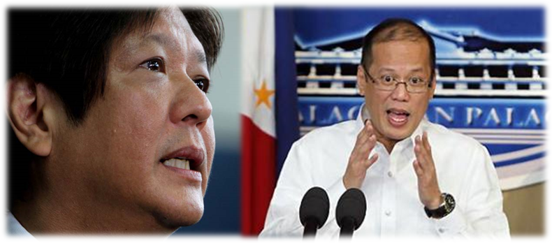 Sen. Bongbong Marcos to PNoy