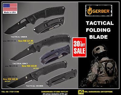 Gerber Tactical Series Folding Blade now on Promotion!!!
