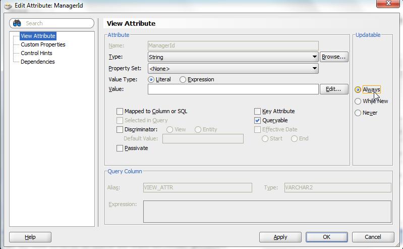 ADF BC Web Service - Return List of Complex Types