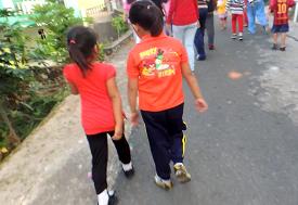 Bibe Dan Bike Ikut Gerak Jalan Santai Bukit Cermin Expo 2015