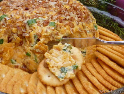 Cheese and Nut Spread AKA Mom's Cheeseball | Ms. enPlace