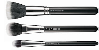 MAC duo fibre brushes, 287, 159, 187