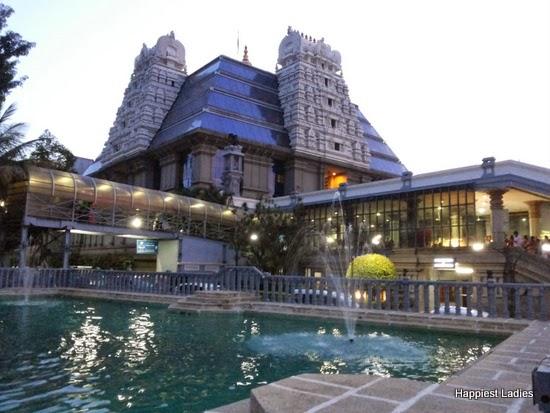 Bangalore Iskon Temple