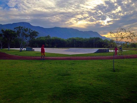 Skate park at Lake Chapala