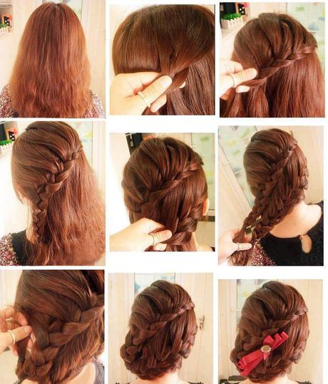 cute hairstyles step by step for medium hair download