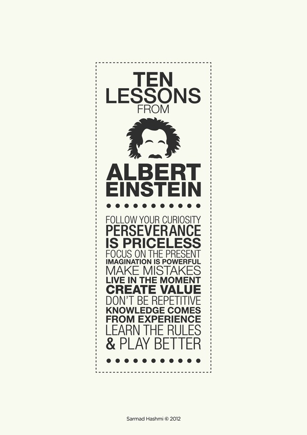 albert einstein ten facts