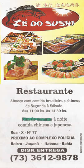 Restaurante Zé do Sushi