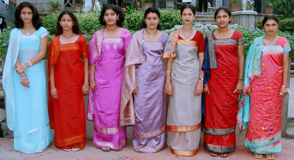 Kodagu style saree