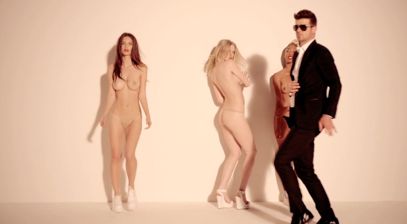 Robin Thicke is back with one of the dopest videos of the year thus ...