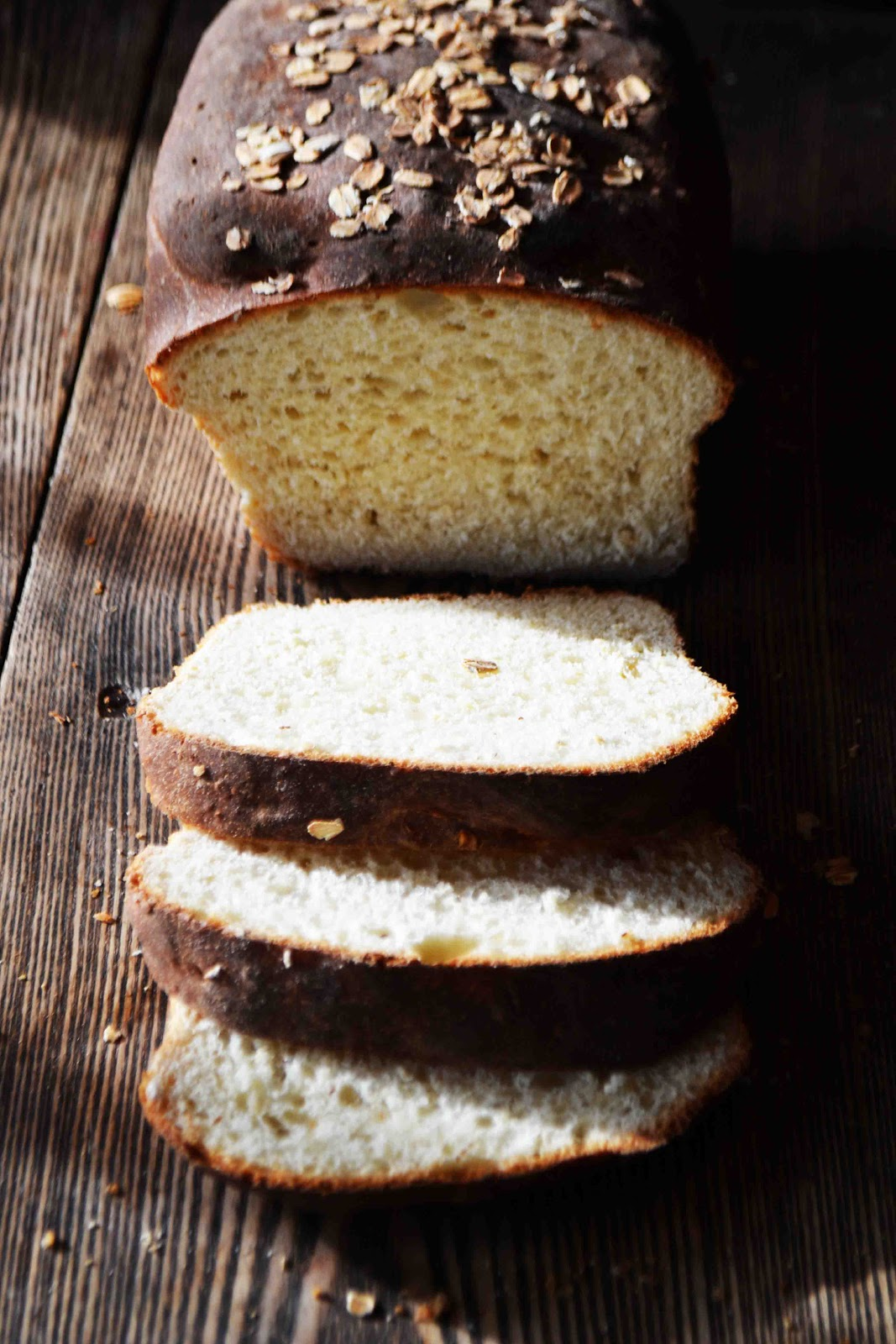 No Knead Maple Oatmeal Bread or Dinner Rolls with Maple ...