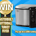 Subscribe to A Freebie Empire for a chance to win a Masterbuilt Butterball Turkey Fryer.