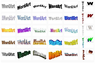 Word Art Styles Are Some Of The Pre Designed Text That Will Make Look In Way 2007 Has Brought