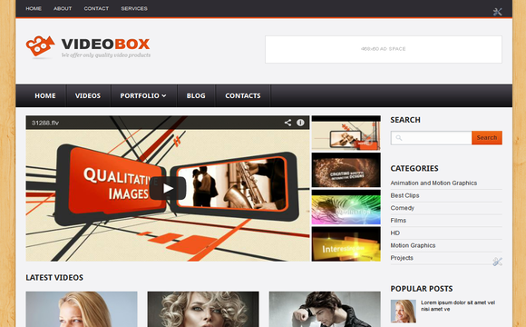 7 best blogger templates for video blogs blogolect thumbnail post at homepage 4 column widget at footer ads space ready fast themes on browser and you must try this themes for music or video sites maxwellsz