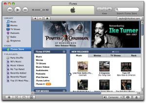 ITunes store 2003,iTunes store