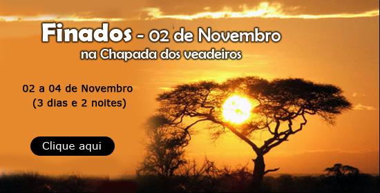 Finados 2012 na Chapada dos Veadeiros