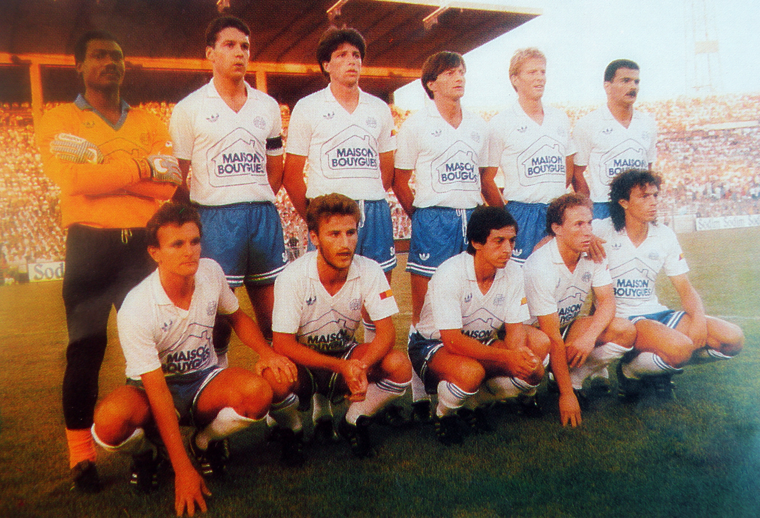 Olympique de marseille 1986 87 the vintage football club for Meuble zanon