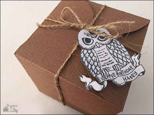 My Owl Barn: Harry Potter Treat Box and Gift Tags