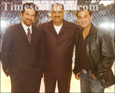 Anil Kapoor's brothers Boney Kapoor and  Sanjay Kapoor
