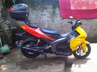 Modifikasi Yamaha Nouvo Z Touring