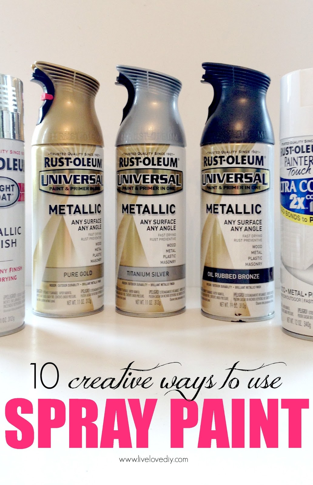 10 Spray Paint Tips: What You Never Knew About Spray Paint. So Good To