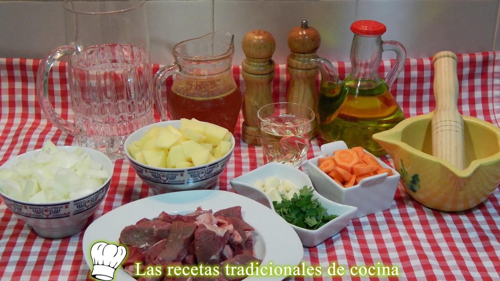 Receta de ternera a la Castellana