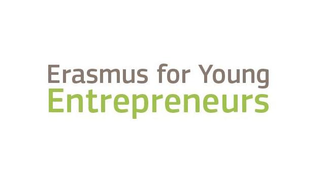 Logo programu Erasmus dla młodych przedsiębiorców