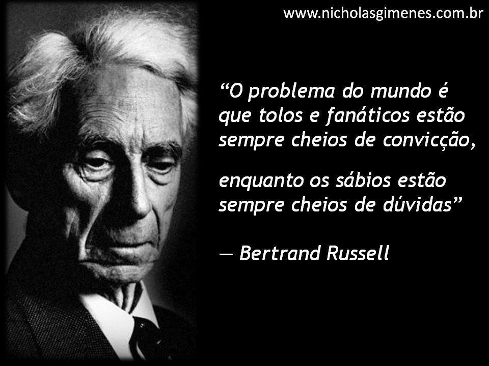 Frase de Bertrand Russell