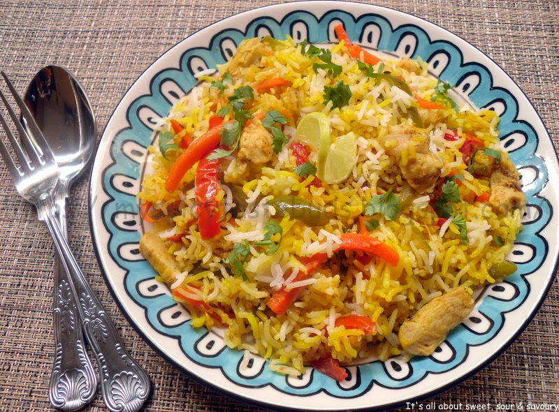 Chicken and Veggies Biryani
