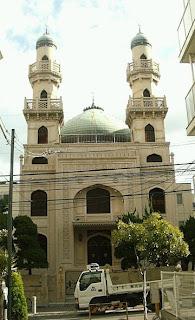Subhanallah…Masjid Kobe Jepang Tidak Hancur Oleh  Bom Atom Dan Gempa