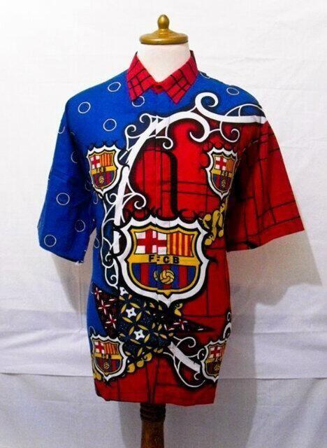 Batik versi Barca!