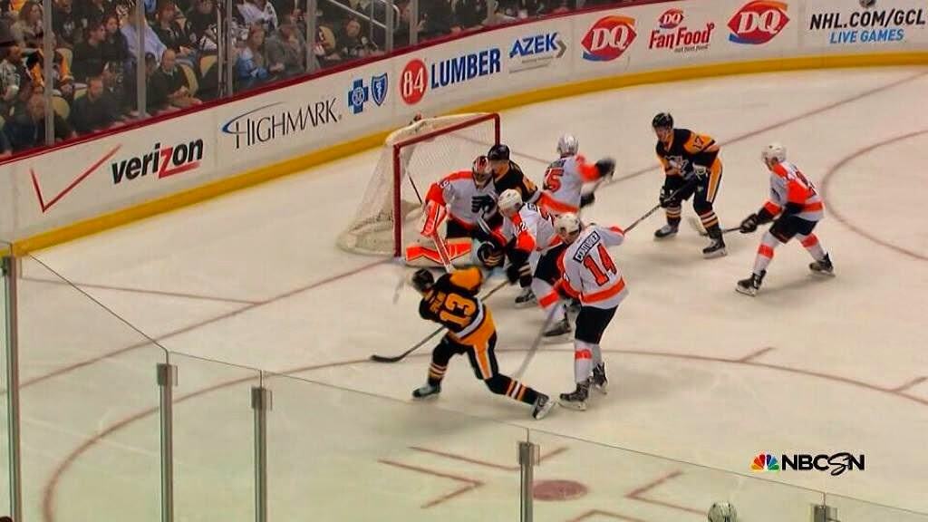 Spaling scores his first as a Penguin