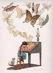 Creo mariposas y vuelan...