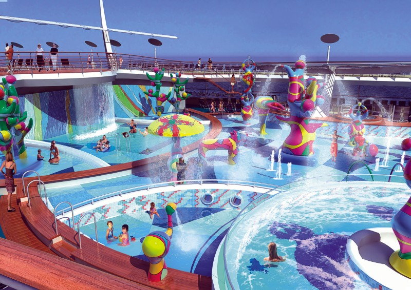 CRUISE SHIPS - Best cruise ship for kids