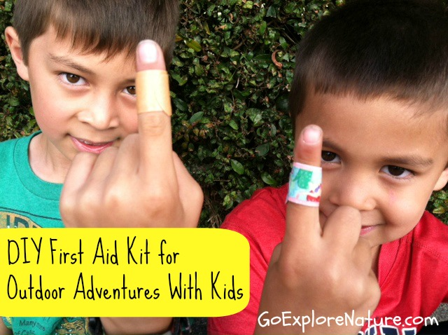 DIY First Aid Kit for Outdoor Adventures With Kids