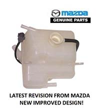 GENUINE MAZDA COOLANT EXPANSION TANK WITH SENSOR
