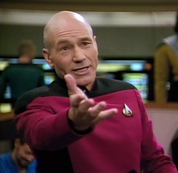 Star Trek Productos a la venta: Para miralos presionar en la fotografía de Picard