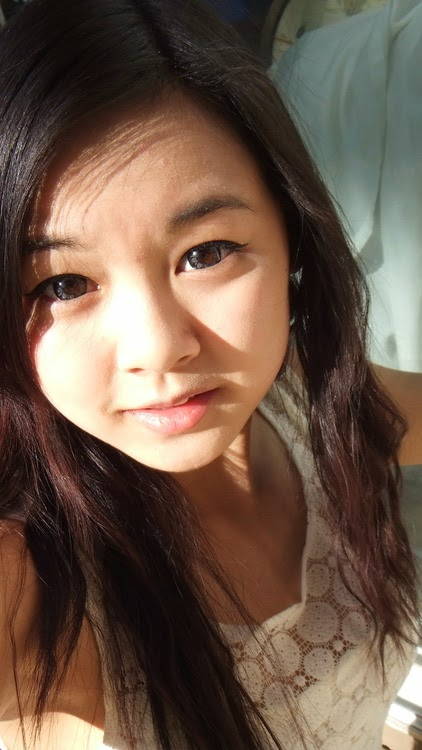 Cute Ulzzang Eyes with Geo Xtra Plum Grey
