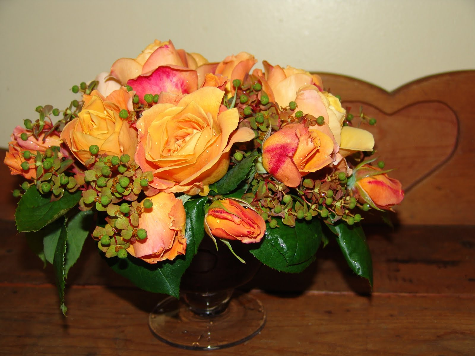 Sitkavores flowers roses honey perfume roses make up quite the bouquet if i remember correctly yellow roses represent friendship and joy in the language of flowers mightylinksfo