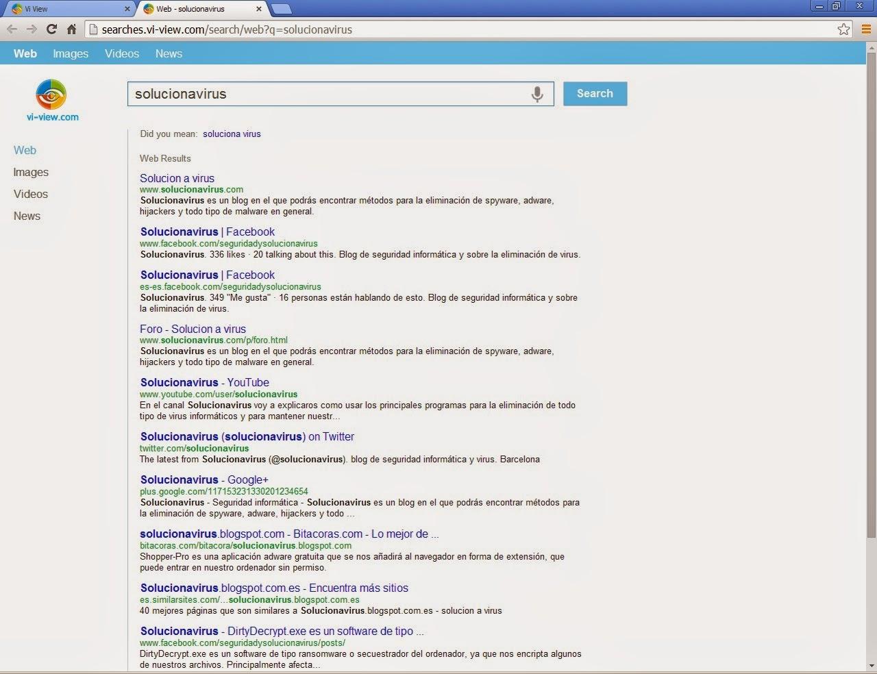 Resultados de búsqueda Mystart.vi-view.com